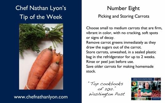 Chef Nathan Lyon Weekly Tip Eight