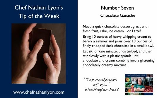 Chef Nathan Lyon Weekly Tip Seven