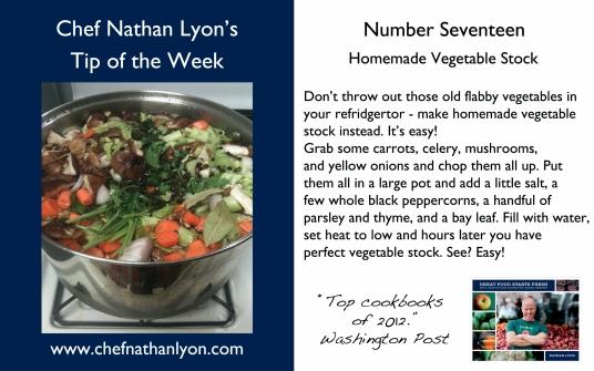 Chef Nathan Lyon Weekly Tip Seventeen