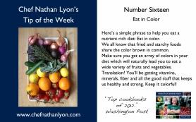 Chef Nathan Lyon Weekly Tip Sixteen
