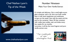 Chef Nathan Lyon Weekly Tip Nineteen