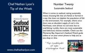 Chef Nathan Lyon Weekly Tip Twenty
