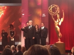 George Lucas on stage at the Daytime Emmys