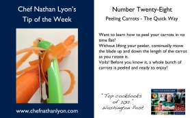 Chef Nathan Lyon Weekly Tip Twenty-Eight