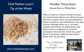 Chef Nathan Lyon Weekly Tip Thirty-Seven