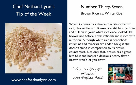 Chef Nathan Lyon Weekly Tip Thirty-Seven