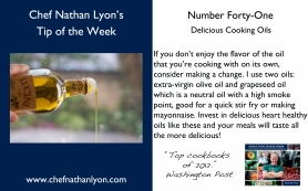 Chef Nathan Lyon Weekly Forty-One