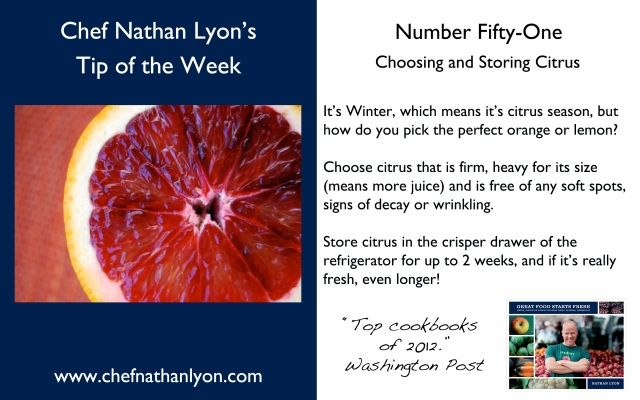 Chef Nathan Lyon Weekly Tip fifty one