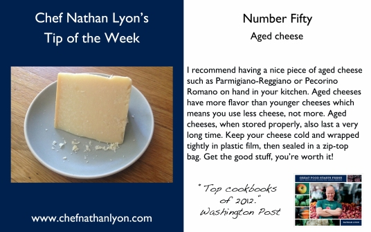 Chef Nathan Lyon Weekly Tip fifty
