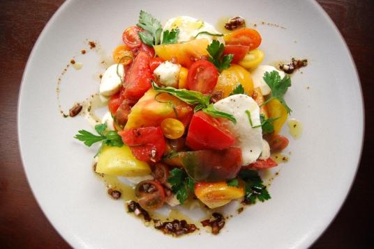Heirloom Tomato and Mozzarella Salad