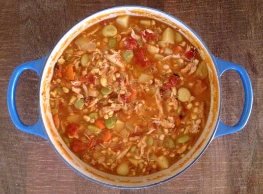 Wild Dungeness Crab Stew