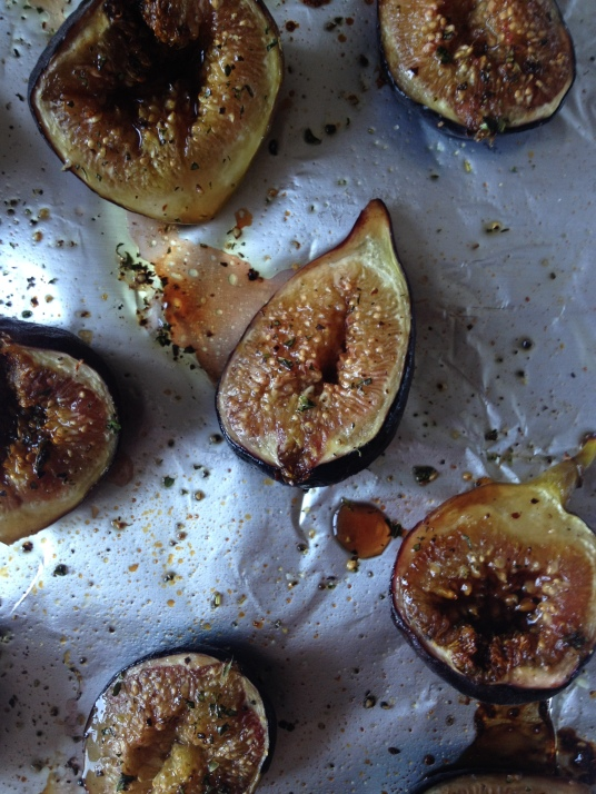 Balsamic Roasted Figs Close