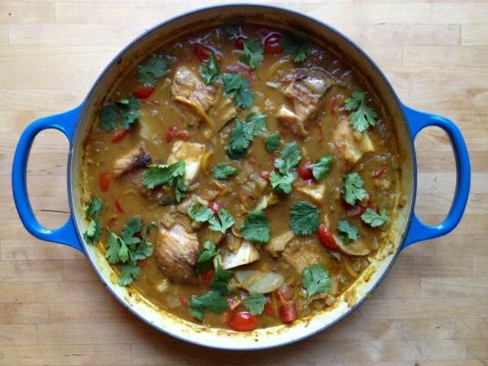 Mahi Mahi Curry