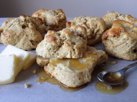 Herb Drop Biscuit