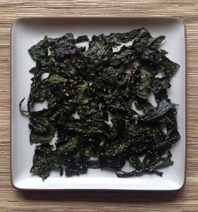 Sesame Kale Chips