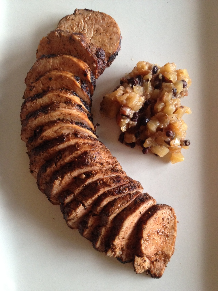 Spiced Oven Roasted Pork Tenderloin