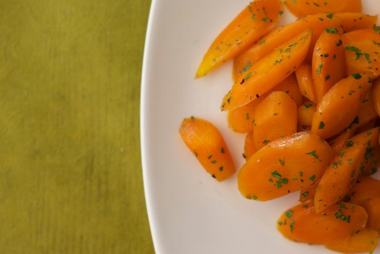 Ginger Glazed Carrots
