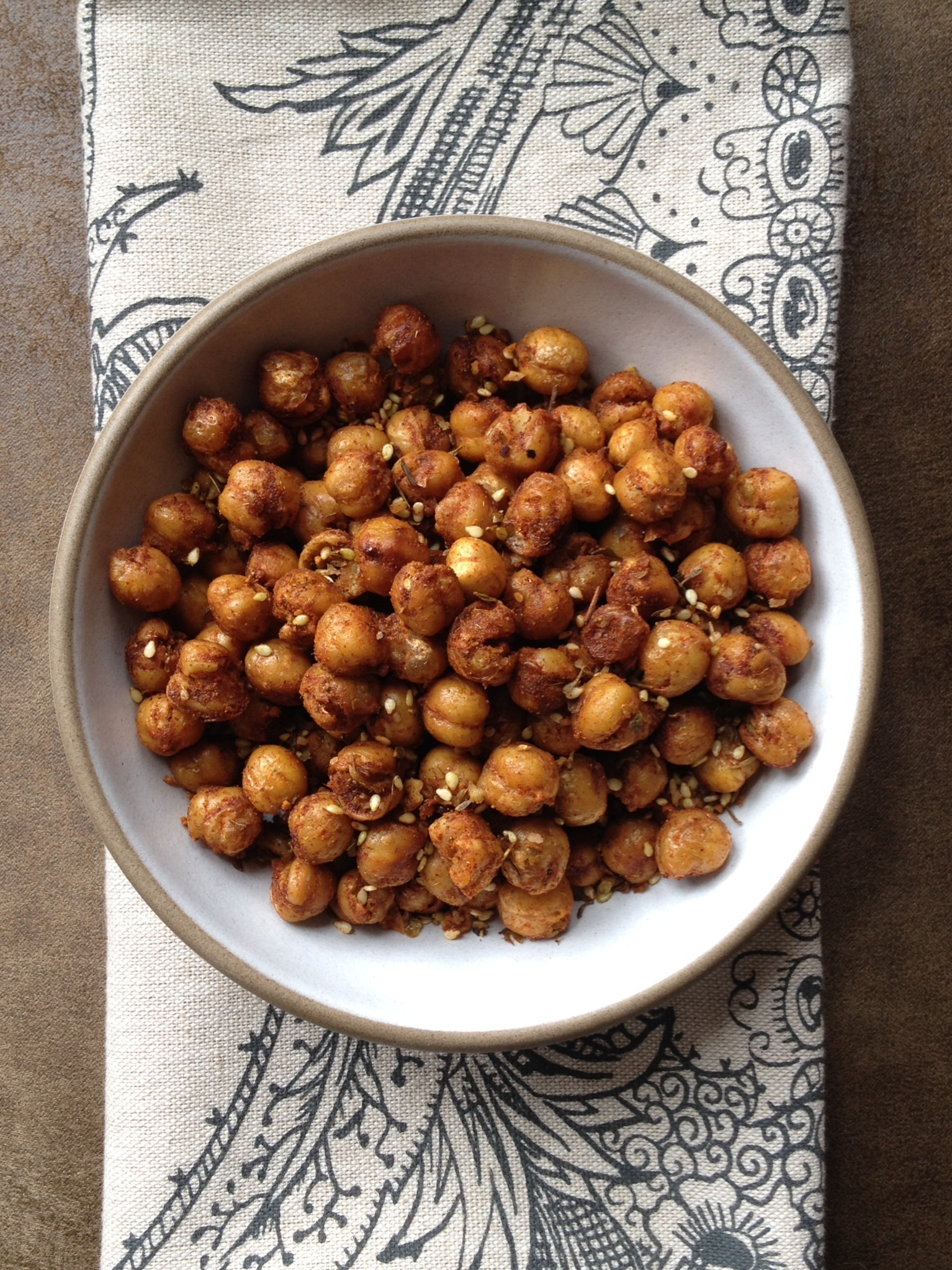 Crispy Spiced Chickpeas | Chef Nathan Lyon