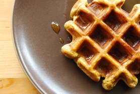 Sweet Potato Waffles with Honey Butter copy