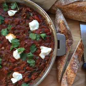 Shakshuka Goat Cheese
