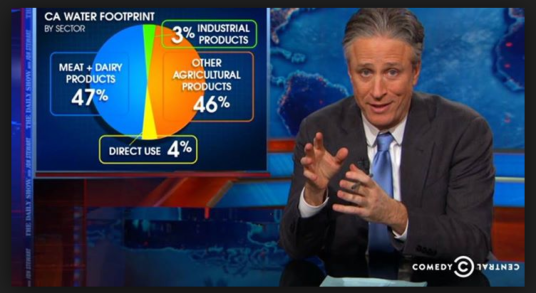 Daily Show Drought Clip