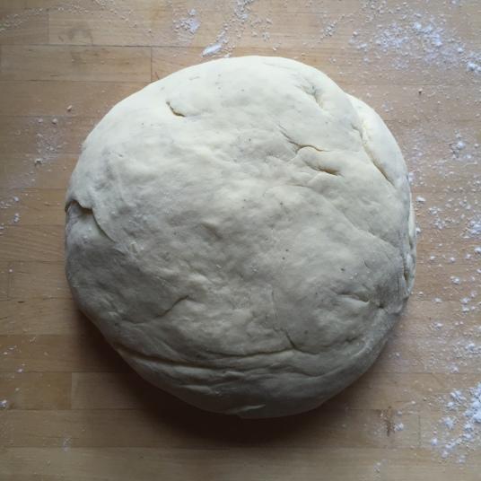 foccacia dough ball