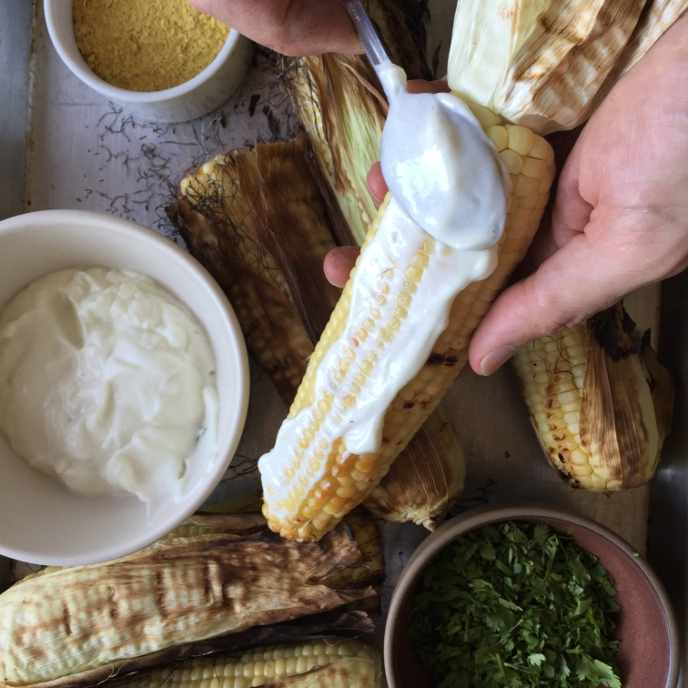 Elote with Aioli