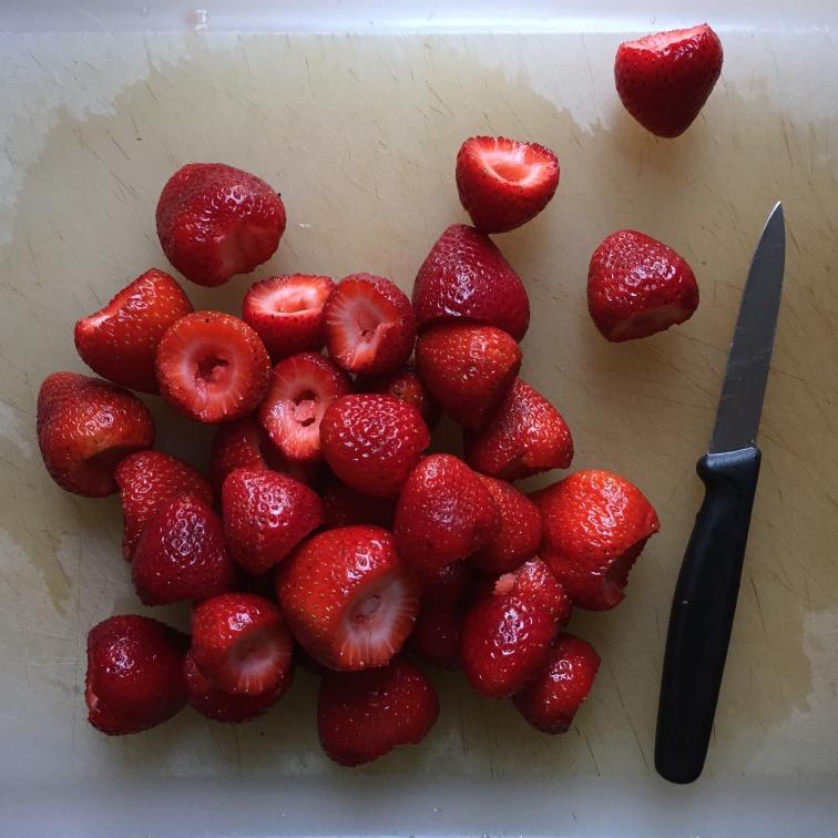 Strawberry Gazpacho - Strawberries