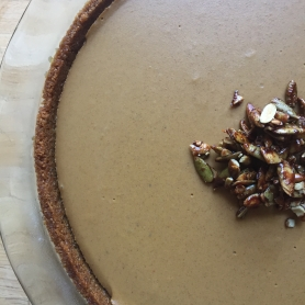 Half Pumpkin Pie