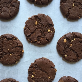 Choc PB Cookies Drought Friendly