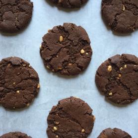 Choc PB Cookies Drought Friendly