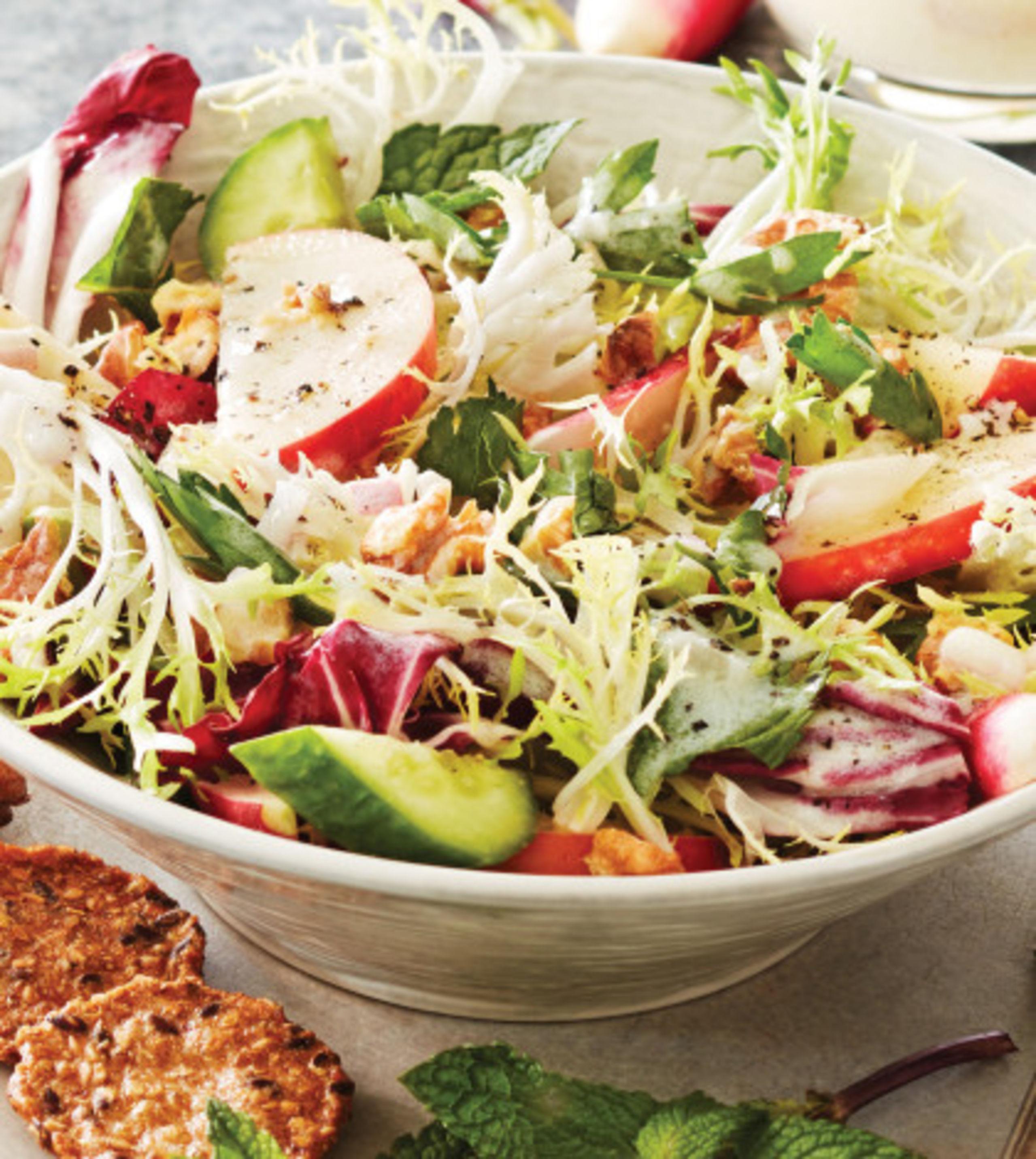 apple-frise--radicchio-salad-with-lemon-kefir-dressing-image