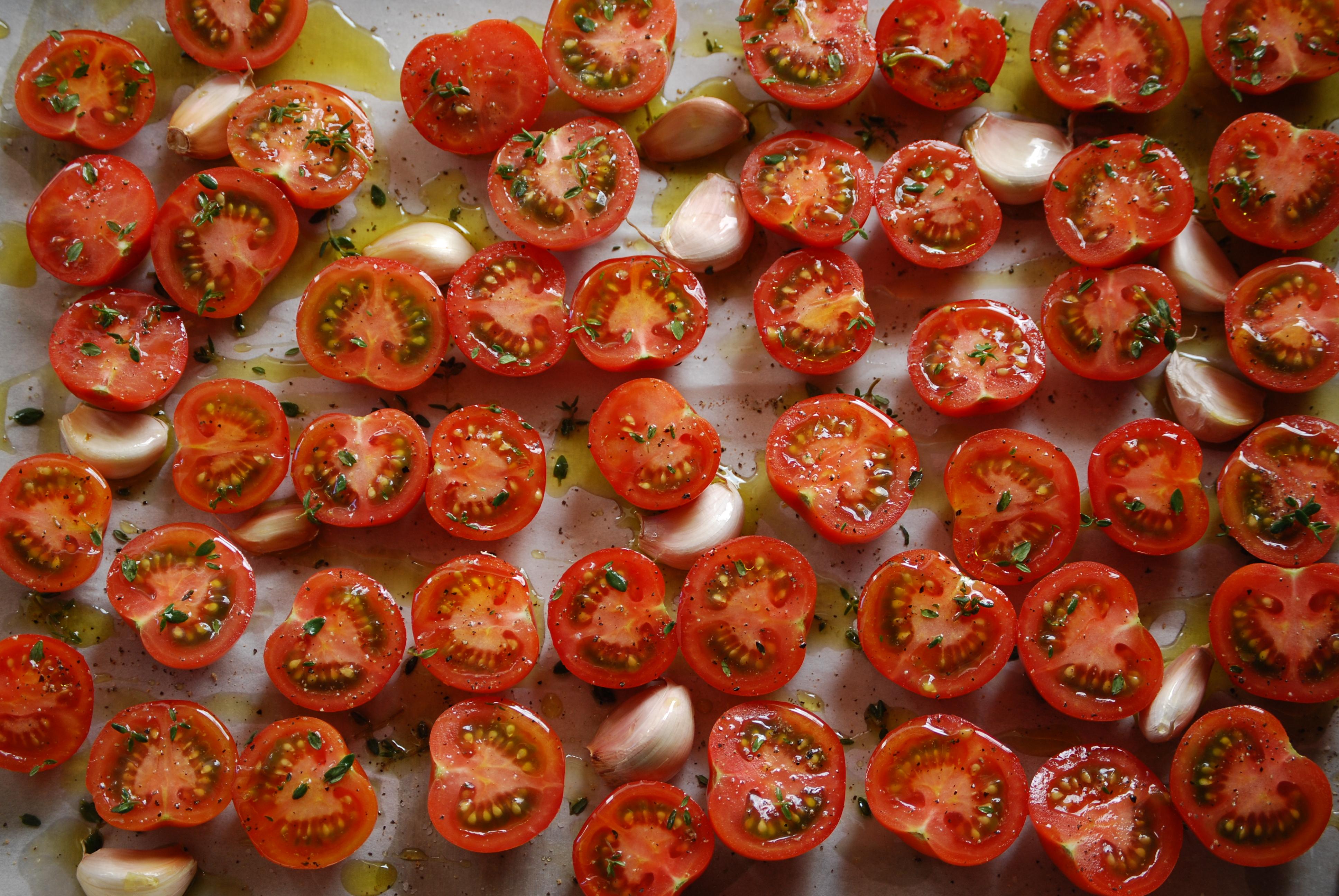 Chef Nathan Lyon Slow Roasted Tomatoes