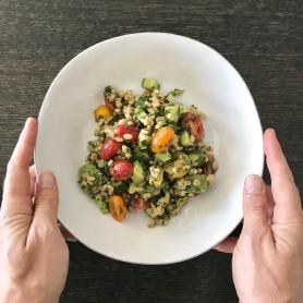 tomato and avo barley