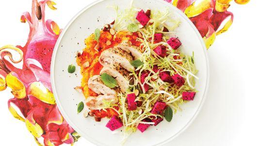 dragon-fruit-salad-with-lemony-chicken--butternut-puree-73-web