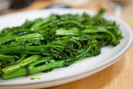 Charred Spicy Broccolini